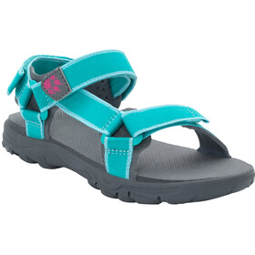 Jack Wolfskin Seven Seas 2 Sandals Girls aquamarine